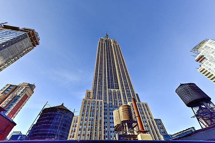 #5 Empire State Building, New York - 1,250 Feet