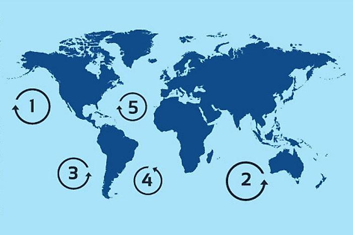 What Is An Ocean Gyre WorldAtlas
