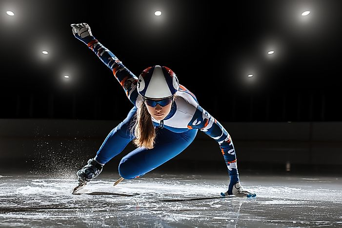 Winter Olympic Games: Short Track Speed Skating