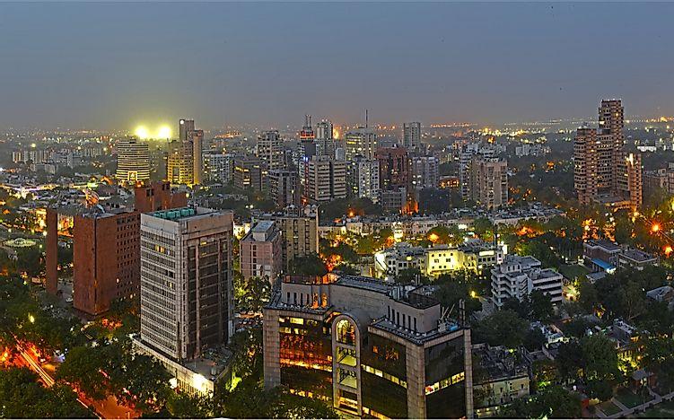 #2 Delhi - 28.5 million