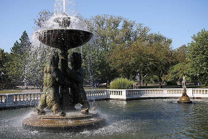 #4 Rackham Memorial Fountain - 1939