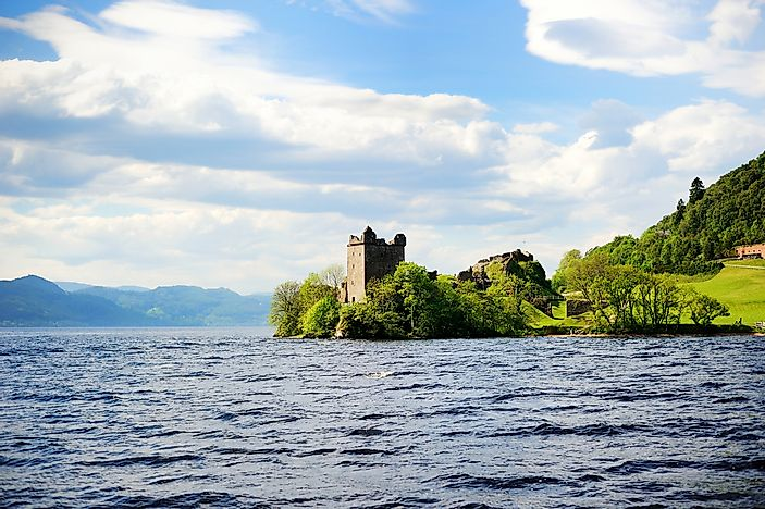 The home of the famous Loch Ness Monster.