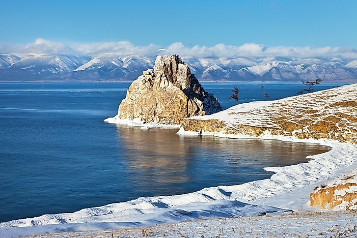 #7 Lake Baikal - 31,500 Square Kilometers