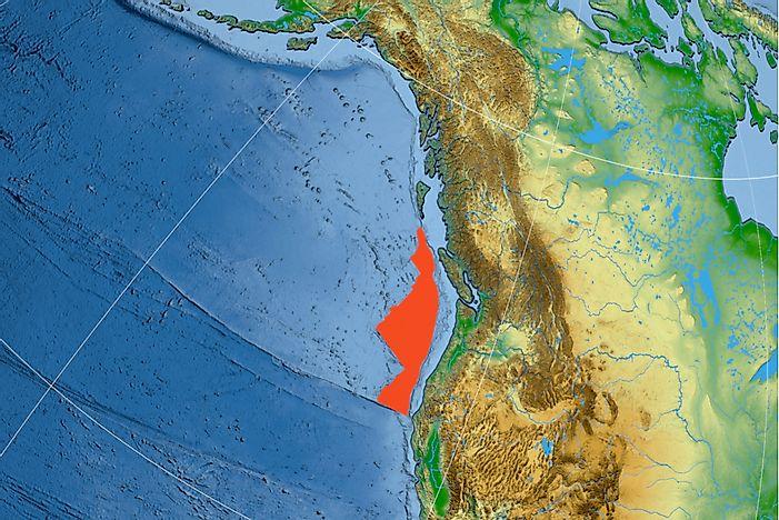 Image result for Juan de Fuca plate