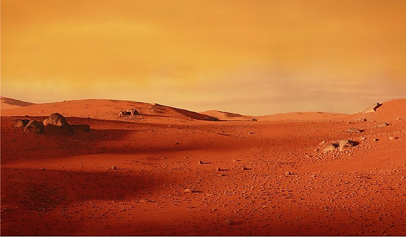 What Is The Temperature On Mars? - WorldAtlas.com