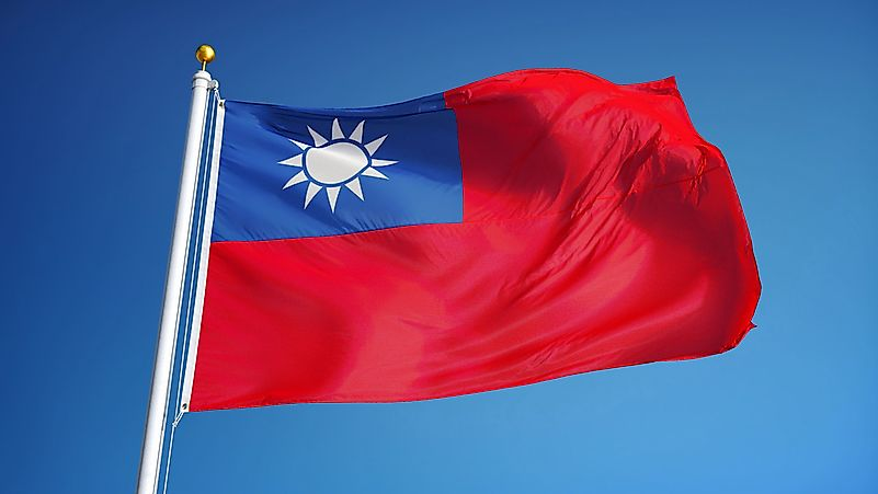 What Do The Colors And Symbols Of The Flag Of Taiwan Mean?