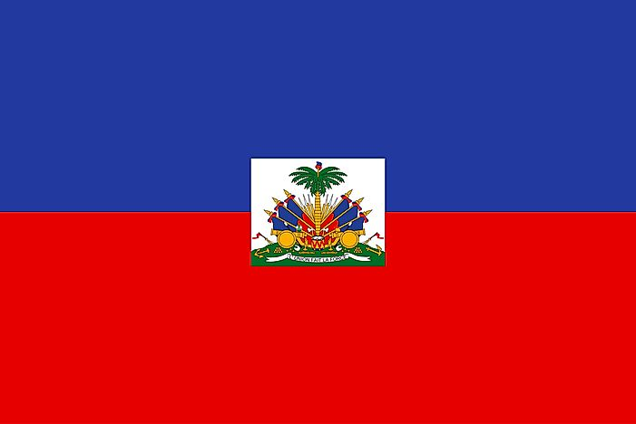 What Do The Colors And Symbols Of The Flag Of Haiti Mean