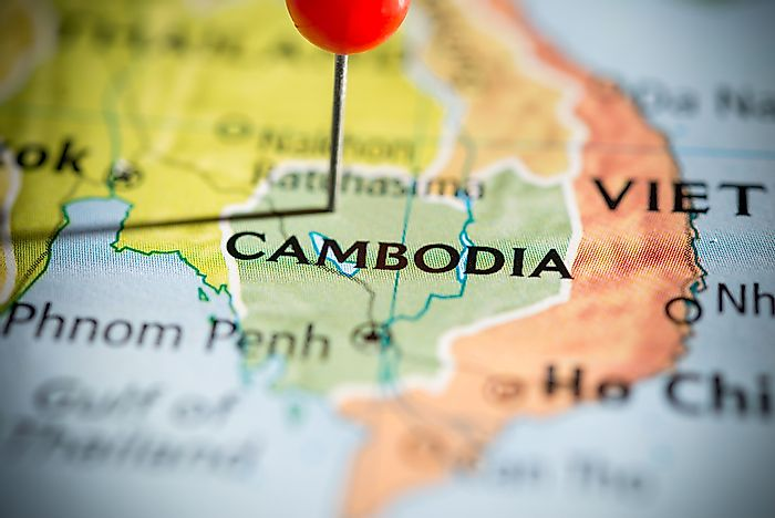 Which Countries Border Cambodia?