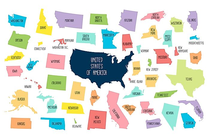 US States That Start With The Letter M   WorldAtlas.com