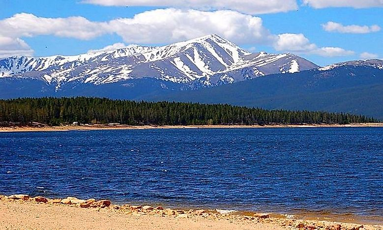 Highest Peaks In Colorado