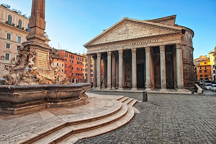 Architectural Buildings of the World: the Pantheon