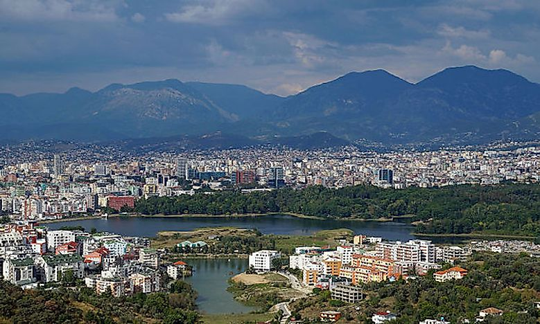 Biggest Cities In Albania