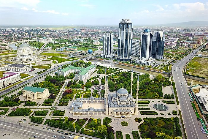 What Is The Capital Of The Chechnya Republic?