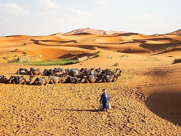 Who Are The Tuareg People Of The Sahara? - WorldAtlas.com