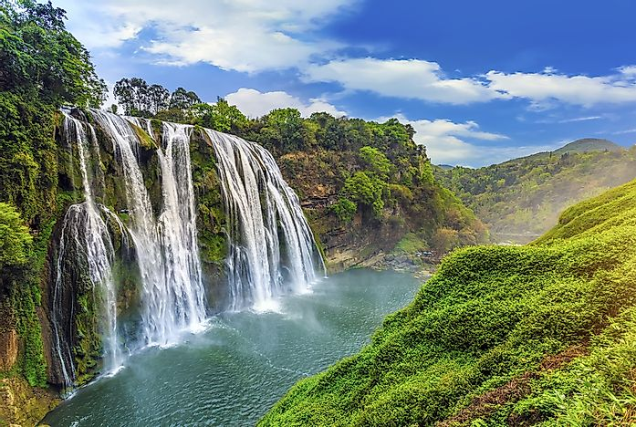 #5 Huangguoshu  - the Tallest Waterfall in East Asia