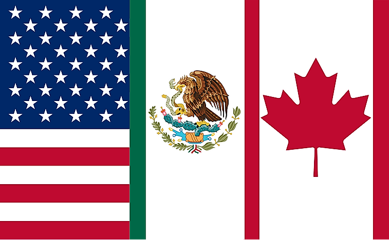 The north american free trade agreement nafta worldatlas the north american free trade agreement nafta platinumwayz