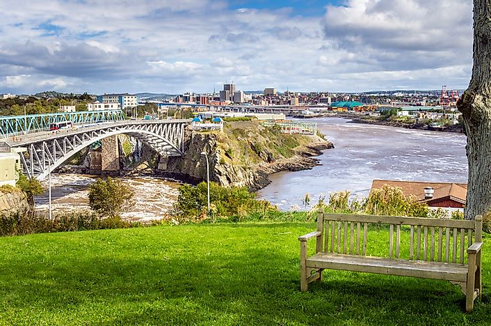 What Is Unique About New Brunswick's Reversing Falls?
