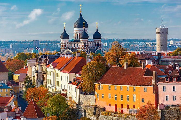 #1 Tallinn, Estonia (5.5 homicides per 100,000 people)
