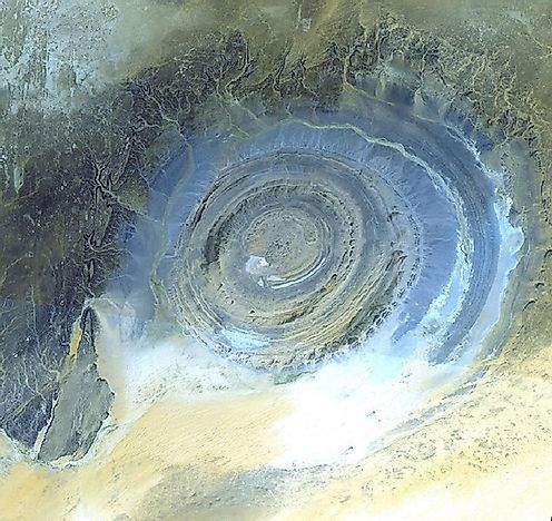 The Eye Of The Sahara - Mauritania's Richat Structure