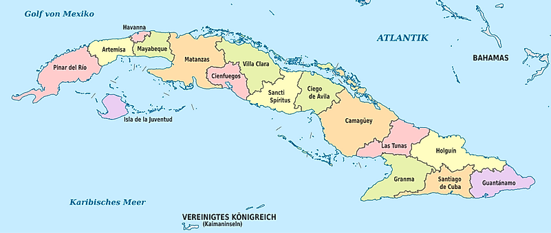 The Largest Islands In The Caribbean