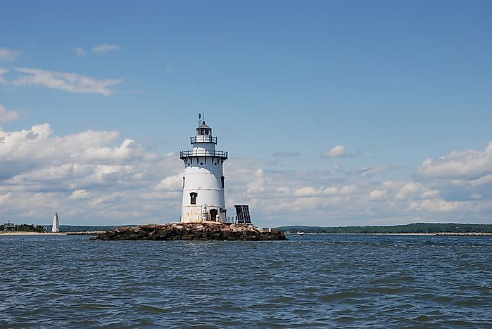 #9 Saybrook Breakwater Light - 1886