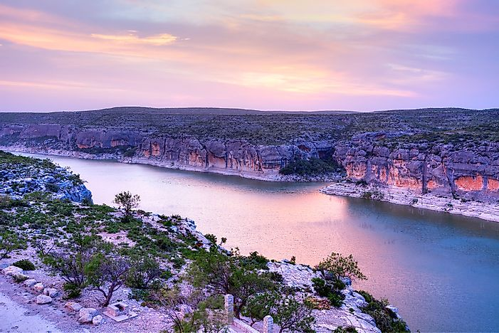 The 10 Longest Rivers Of Texas