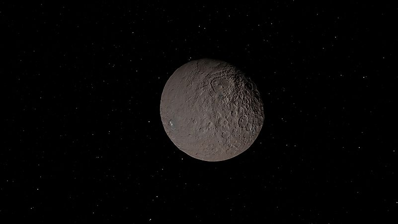 largest asteroids in the solar system - photo #5