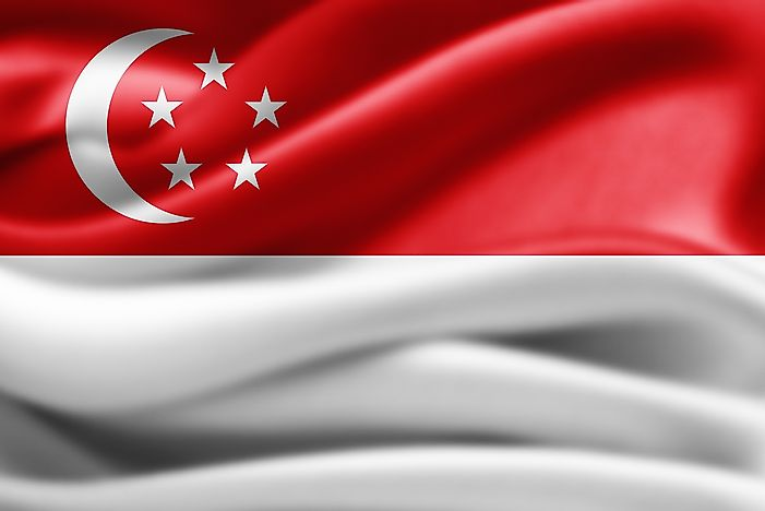 What Do the Colors and Symbols of the Flag of Singapore Mean?