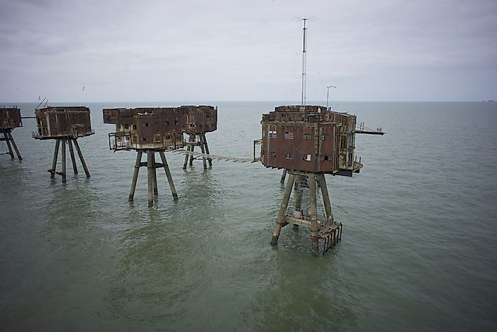 #1 Maunsell Sea Forts - England