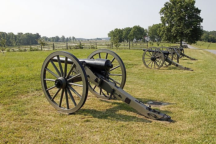 Major Battles Of The American Civil War