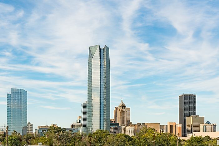 The Tallest Buildings in Oklahoma City