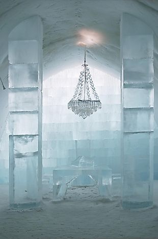 The Ice Hotel of Jukkasjärvi, Sweden - Unique Places around the World