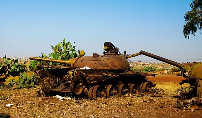 What Caused The Eritrean–Ethiopian War? - WorldAtlas com