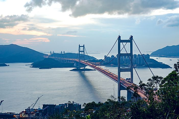 #2 Tsing Ma Bridge