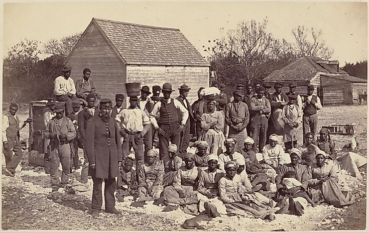 Ancestral Homelands Of Slaves In The United States