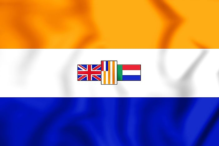 The flag formerly held by South Africa.