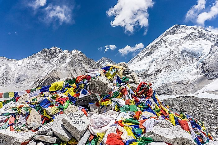 The Everest Base Camps Of Nepal