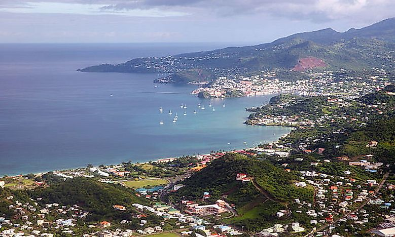Which Are The Biggest Cities In Grenada?