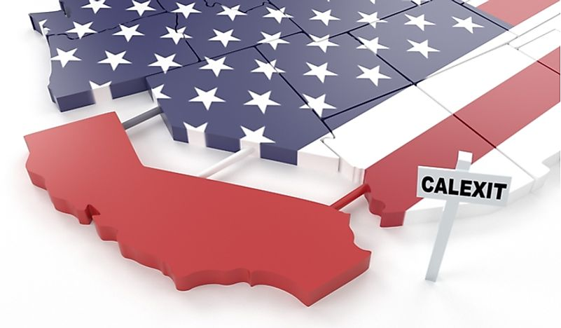 Calexit And Other Secessionist Movements In U.S. History
