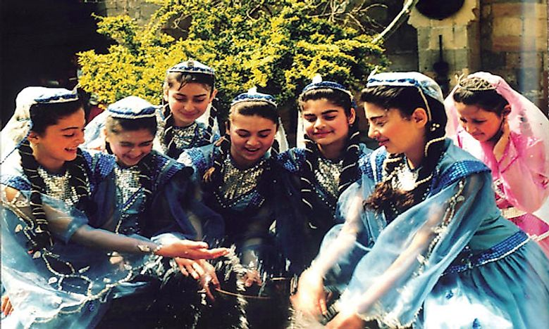 Ethnic Groups Of Azerbaijan