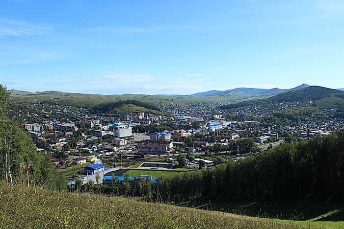 What Is The Capital Of The Altai Republic?