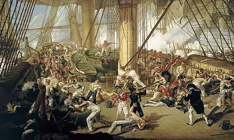 #2 Battle of Trafalgar (October of 1805) -