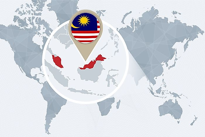 What Continent is Malaysia In?