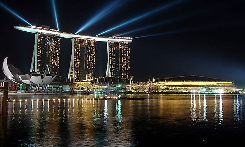 #3 Marina Bay Sands -