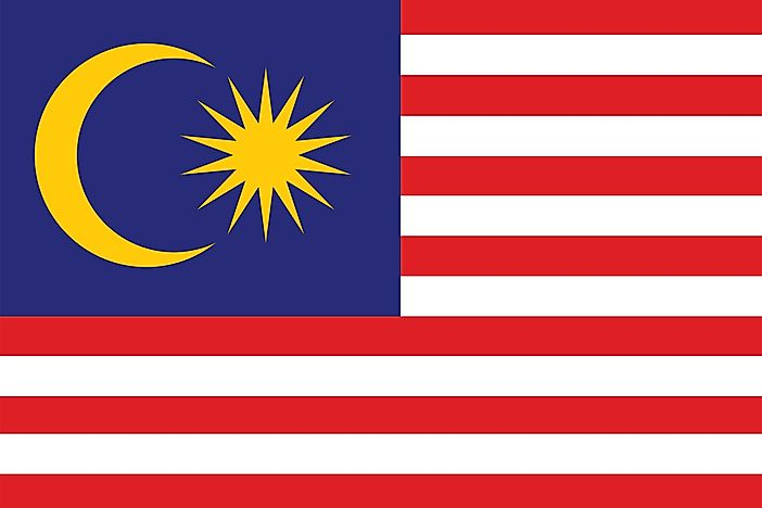 What Do The Colors And Symbols Of The Flag Of Malaysia Mean?