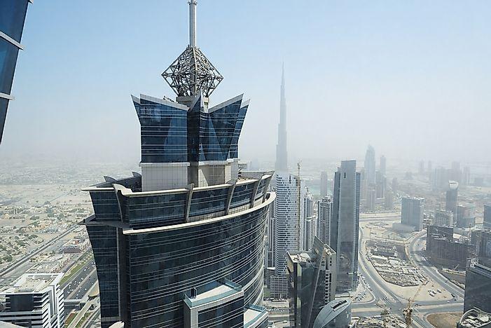The Tallest Hotels In The World Worldatlas Com