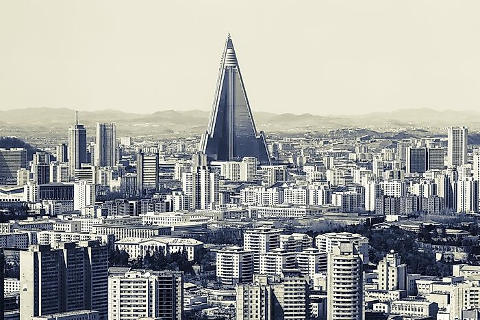 What Is Unique About The Ryugyong Hotel In North Korea?