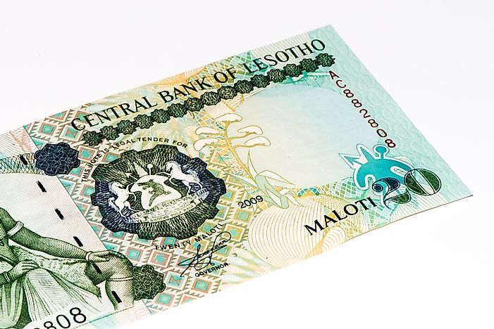 What Is The Currency Of Lesotho Worldatlas