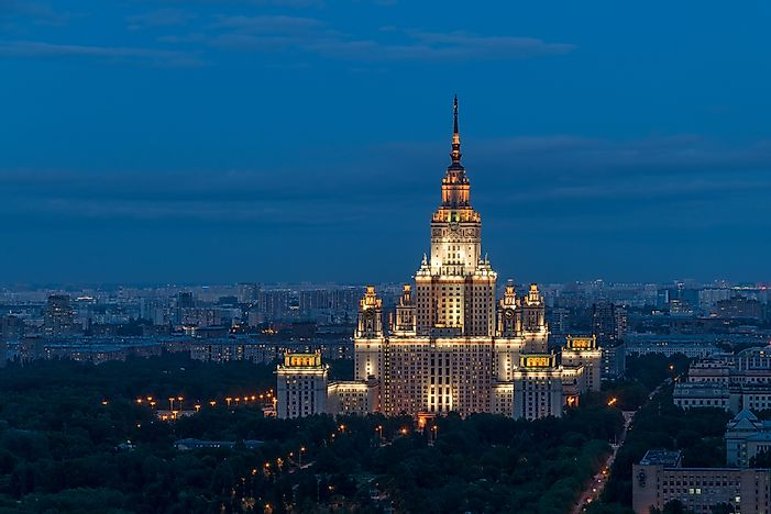 #2 Moscow State University