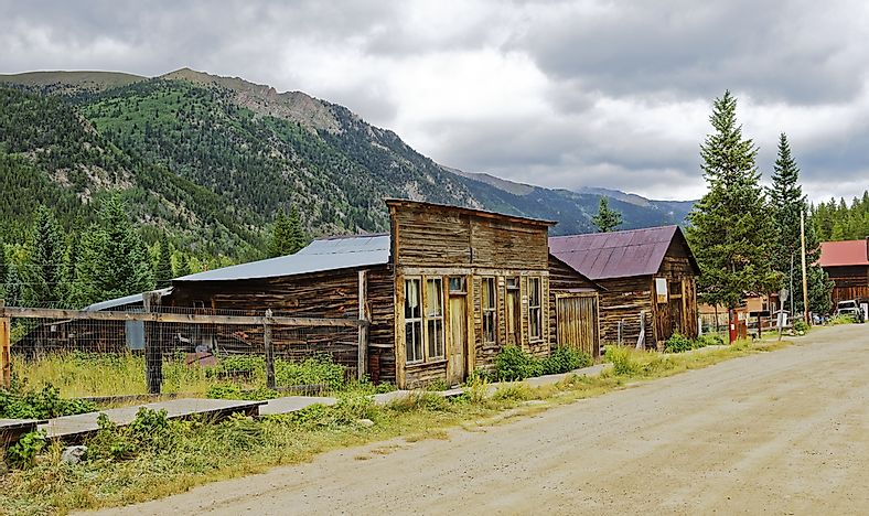 The Story of St. Elmo, Colorado